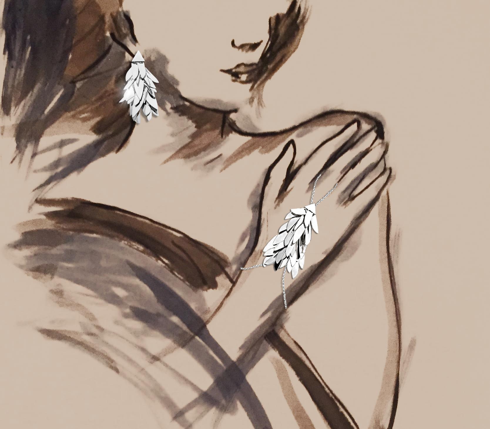 22- Adel Abdessemed Game earrings, ring/bracelet
